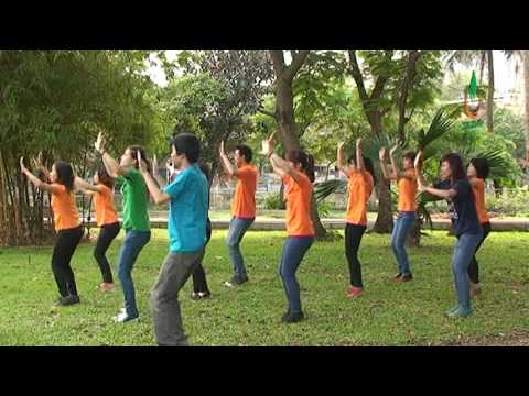 Tách nhịp Dân vũ: Funny Monkey - Hanoi ADC