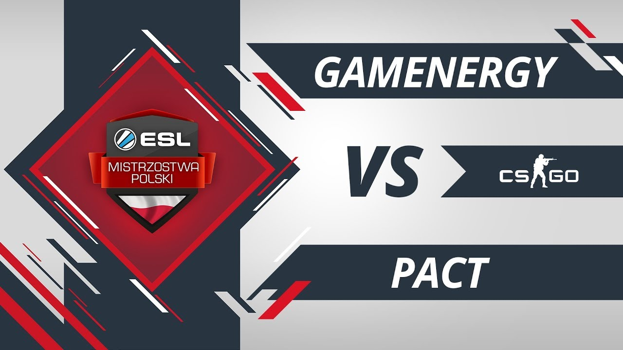 gamEnergy vs PACT | EMP CS:GO Kolejka #7 Mapa #2