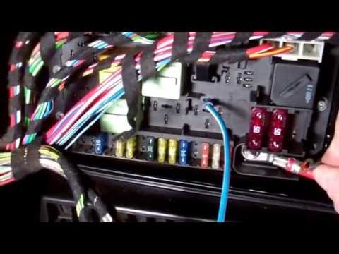 How to check fuel supply / relay and pump on Range Rover L322 (MkIII)