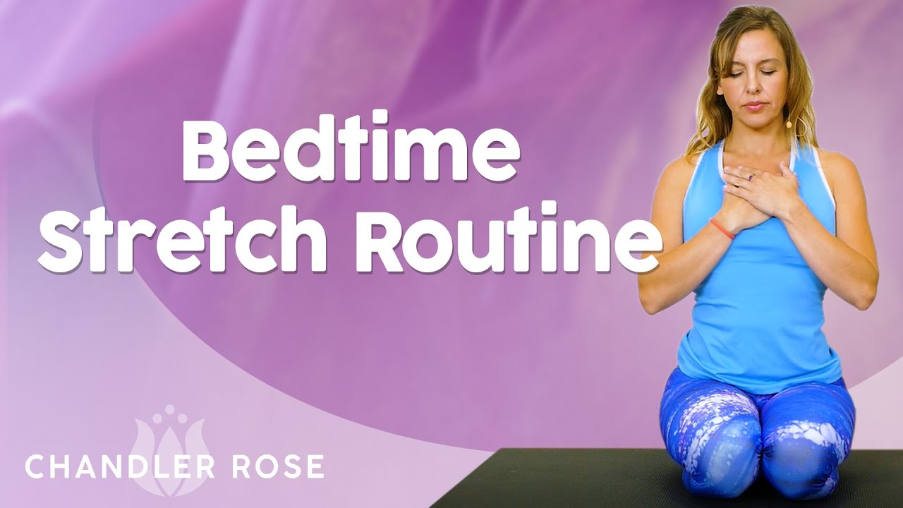 Bedtime Stretches for Better Sleep ♥ Stress, Insomnia, Anxiety & Pain, At Home, Gentle Yoga, 20