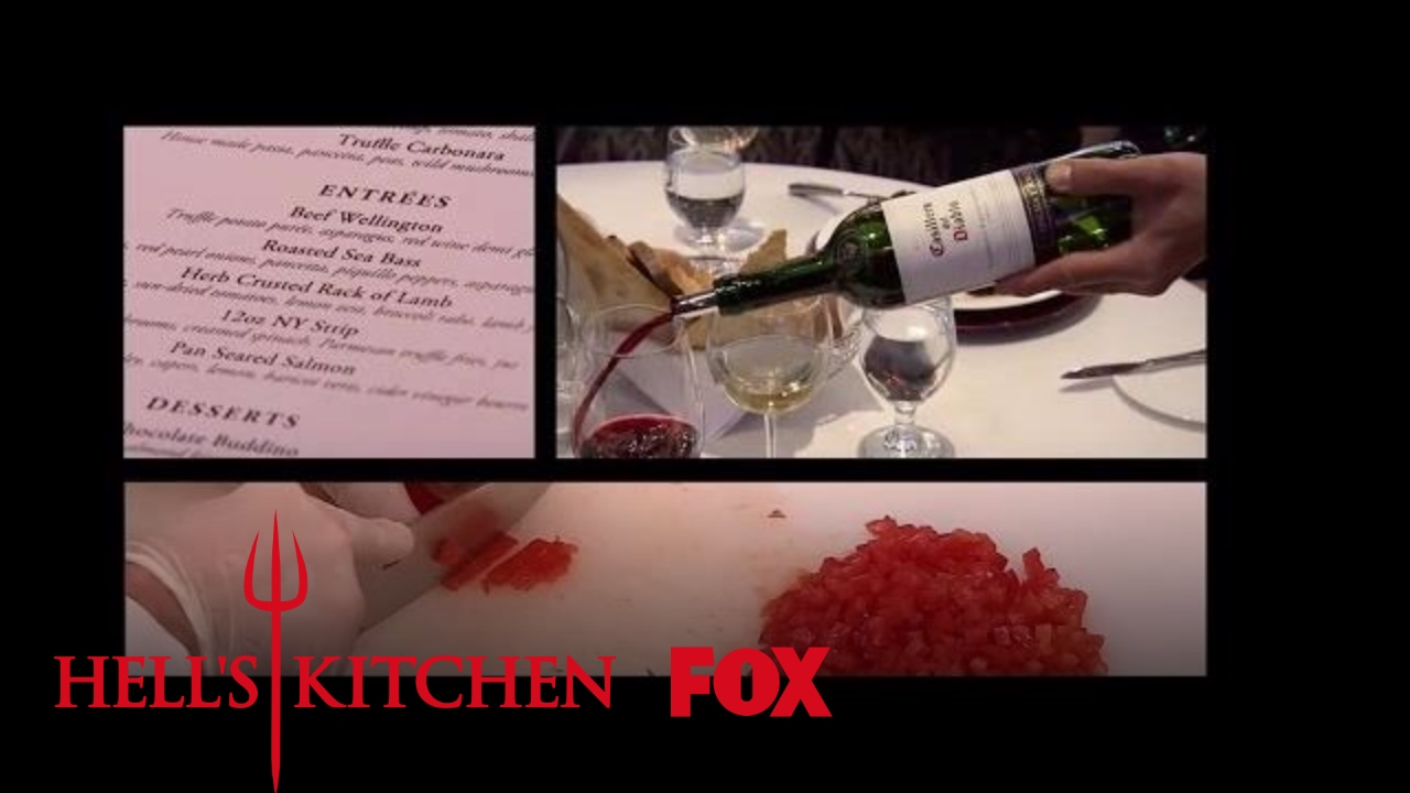 The guests begin to arrive season 16 ep 14 hell 39 s for Watch hell s kitchen season 16