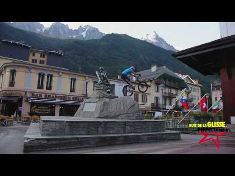 "Danny MacAskill filming in Chamonix for "" Perfect Moment -INSTANT """