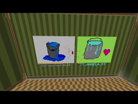 لعبة الرسام : السر في الشادو ! - Minecraft Hypixel Pixel Painters