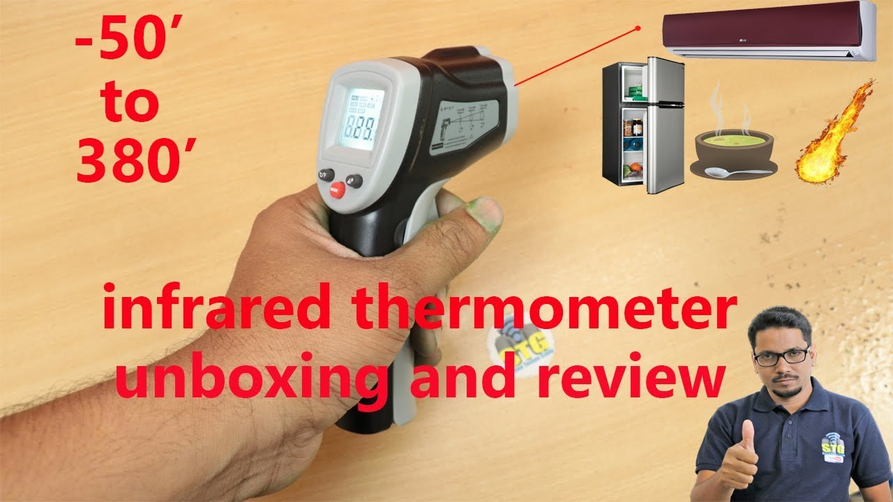 Hindi Infrared Thermometer Unboxing And Review Youtube Fluke 59 Max Sahootechnoguide Stgunboxing Stgreview