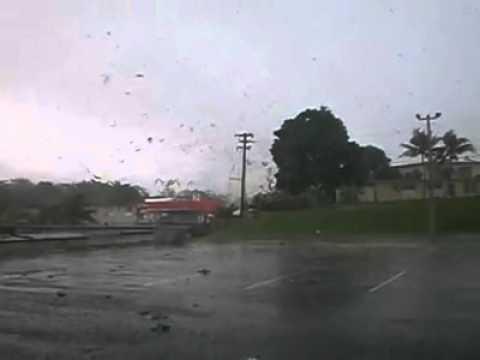 Tornado en Moca, Puerto Rico 2011