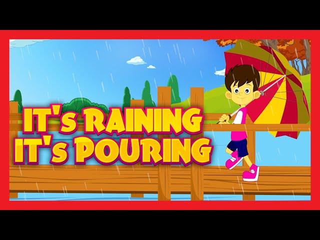 It's Raining It's Pouring – Nursery Rhyme with LYRICS
