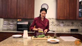 Rosemary Almond Green Beans