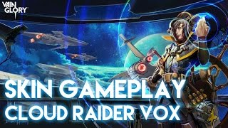 Vainglory Skins - Cloud Raider Vox |Tier 1| Gameplay