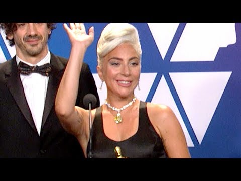 Oscars 2019: Lady Gaga Wins For Best Original Song Shallow (FULL INTERVIEW)