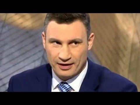 Новое интервью Кличко,