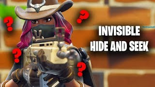 FORTNITE INVISIBLE HIDE AND SEEK *glitch*