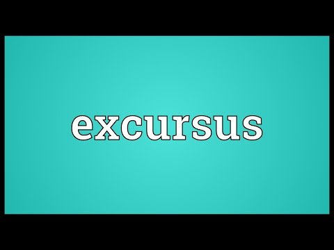 Header of excursus