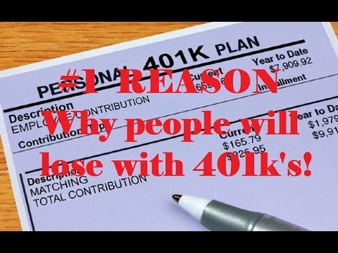 Why people will lose with 401ks 401k vs do it yourself investing why people will lose with 401ks 401k vs do it yourself investing solutioingenieria