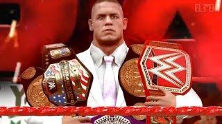 WWE 2K17 Story - John Cenas WWE RAW Intro/Open 📺