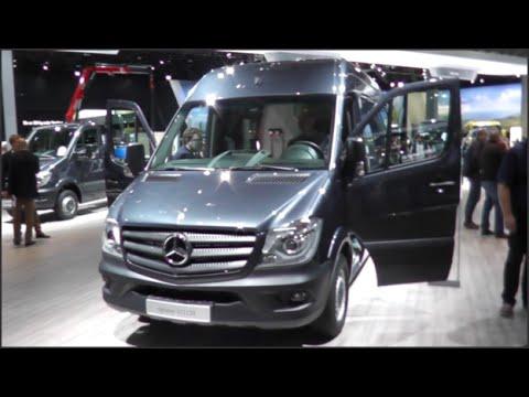 Mercedes Benz Sprinter 313 Cdi 2015 In Detail Review