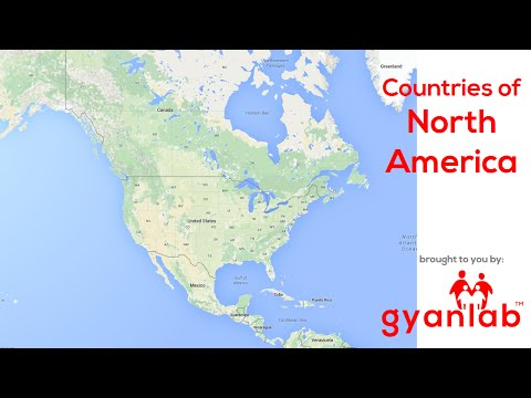 Countries in North America | Geography | GyanLab
