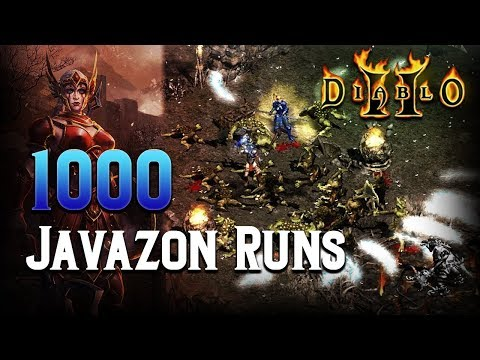 1000 Javazon Runs - Diablo 2