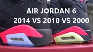2014 Air Jordan Black Infrared VS 2010 VS 2000 Shoes With @DjDelz - The Sneaker Addict Show