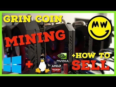 How To Mine Grin Coin (GRIN) — VoskCoin Mining Guide