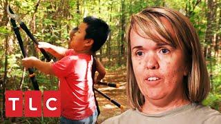 Podan el bosque para crear pista de Go Kart ¿Será buena idea?  Una gran familia   TLC Latinoamérica