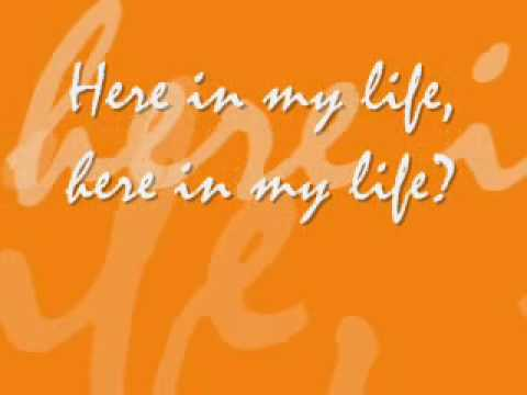 Hillsong - Here in my life