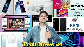 Tech News #4 Redmi Note 9 Launch Date, Instagram Food Delivery, Xiaomi Ac Launch....!🔥🔥
