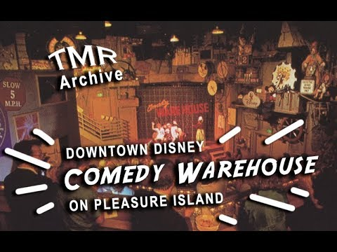 Comedy Warehouse from Pleasure Island FULL SHOW // Downtown Disney // TMR Archive