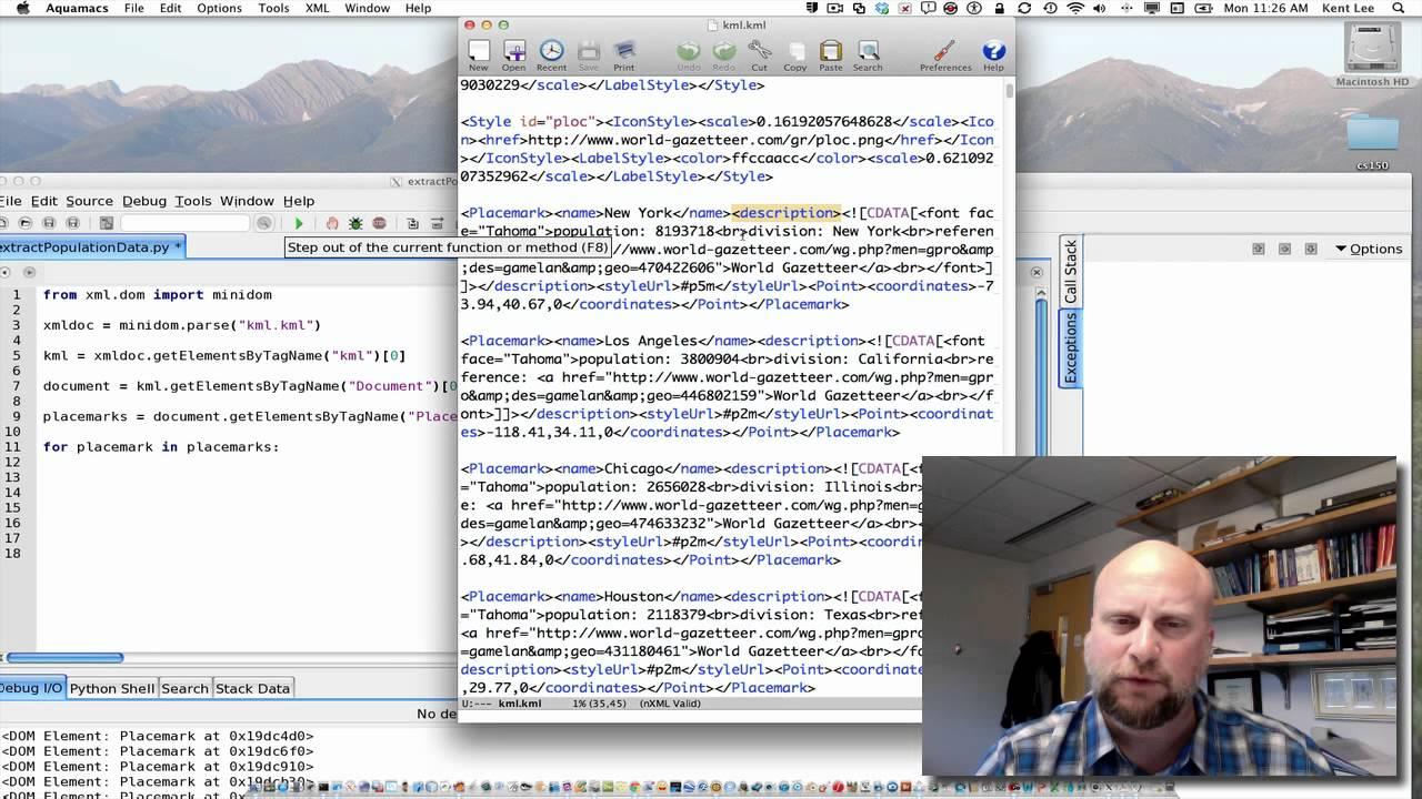 4-4: Parsing XML Files in Python - YouTube