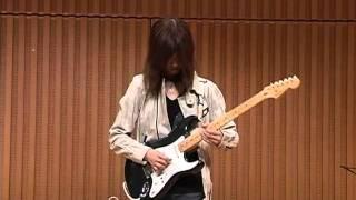2010-12/12,S君、♪哀愁のヨーロッパ(サンタナ)を弾いてみた。カラオケ...