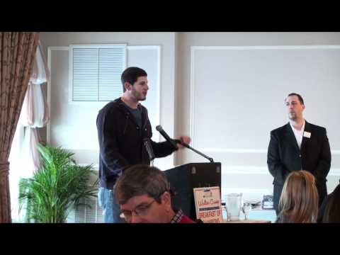 Dan Orlovsky speaking at Walter Camp Breakfast of Champions 2011