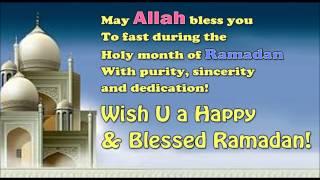 Wish U A Happy & Blessed Ramadan | Ramadan Mubarak 2015