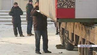 В Красноярске на ул.9 мая ликвидировали стихийный рынок (Новости 11.01.17)