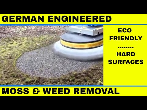 Block Paving Cleaner Moss and Weed Removal Brush