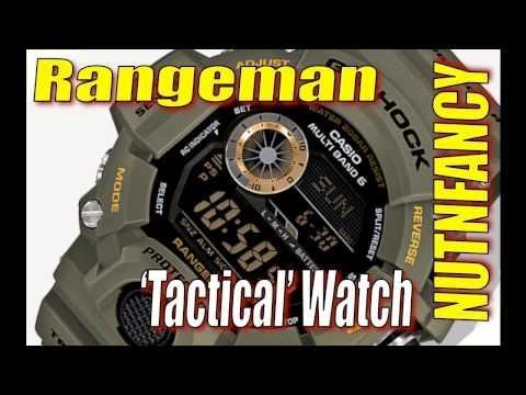 Casio Rangeman GW9400: Tactical Watch?
