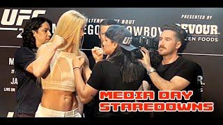 UFC 246 Staredowns Media Day