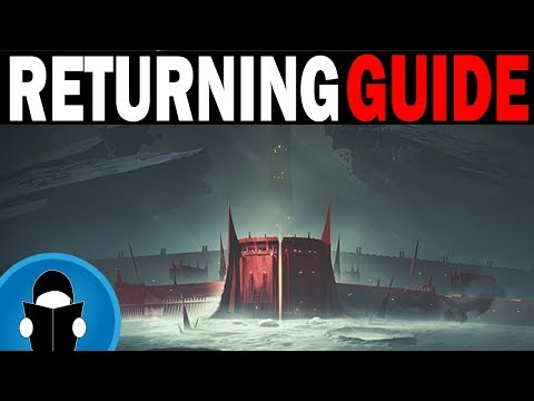 Destiny 2 New and Returning Player Guide | Shadowkeep Prep