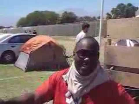 Freestyle Rapping with the security at Coachella!
