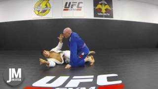 Recover guard/sweep without a underhook Cyborg style