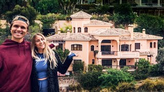 HOUSE TOUR! OUR NEW CASA CASTLE IN MARBELLA! | VLOG² 112
