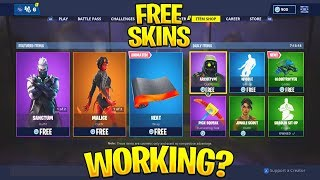 How To Get ANY SKIN For Free In Fortnite? New FREE SKIN GLITCH SCAM! (Season 8)