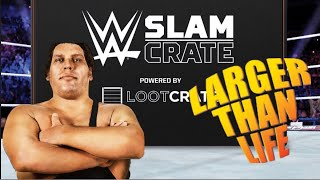 """WWE Slam Crate """"Larger the Life"""" unboxing"""