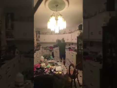 Bat Tred In Irish Familys Kitchen Funny