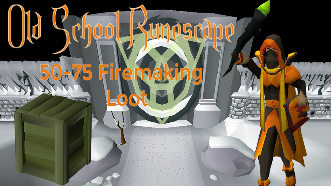 Osrs 50 To 75 Firemaking At Wintertodt