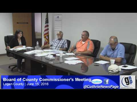 Logan County Board of County Commissioner's Meeting