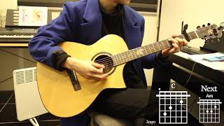 Baby - Justin Bieber Guitar Cover for Beginner Playing by [Musicdrawing] (1/2)