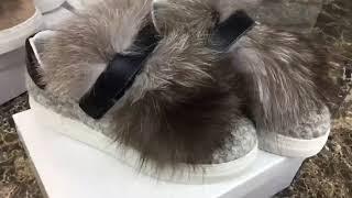 Кеды Moncler с мехом - Видео от Интернет-магазин Спортивной обуви