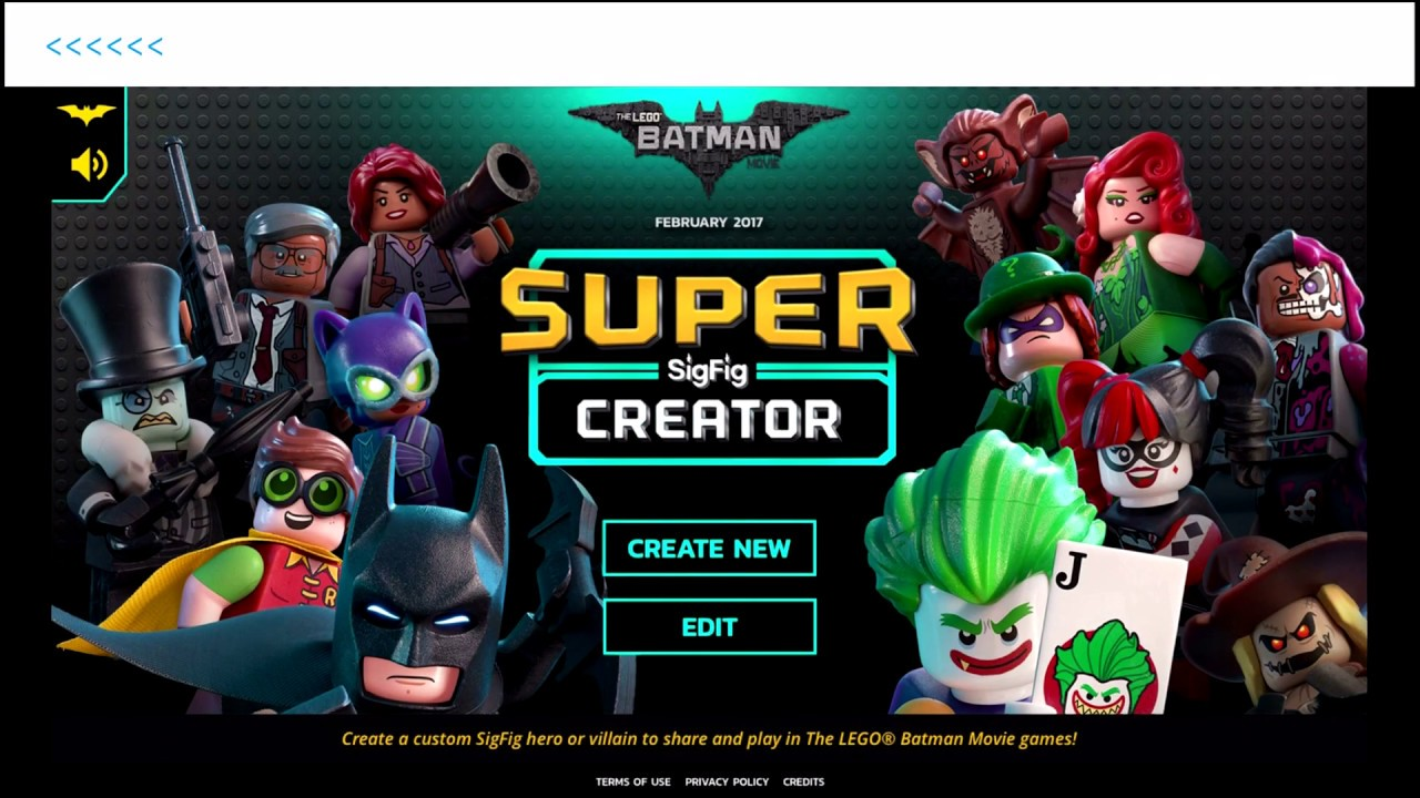 The LEGO Batman Movie Game Super Superfig Character