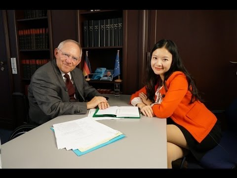 Irene Hu interview with Wolfgang Schäuble