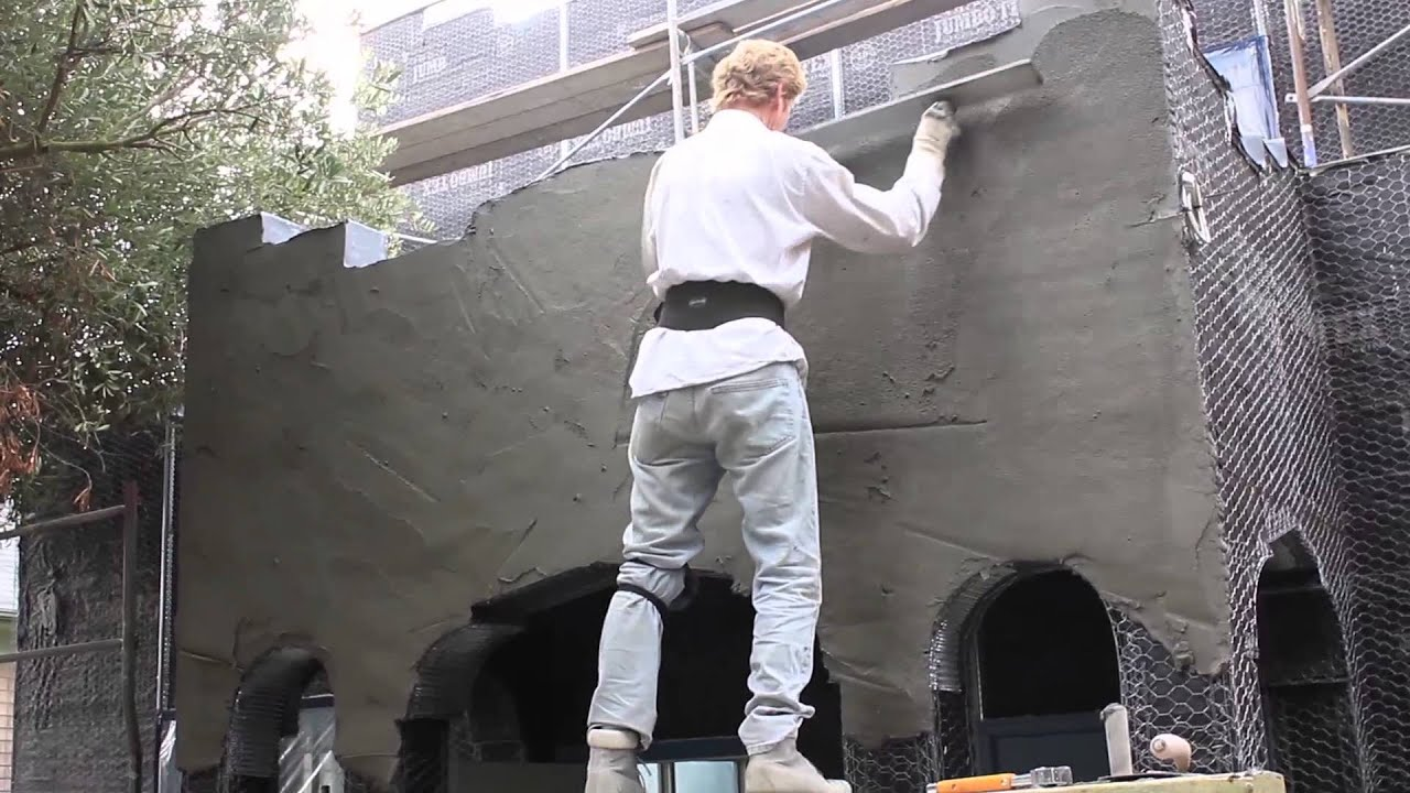 Render Two Coats Of Cement Plaster How To Use A Plaster
