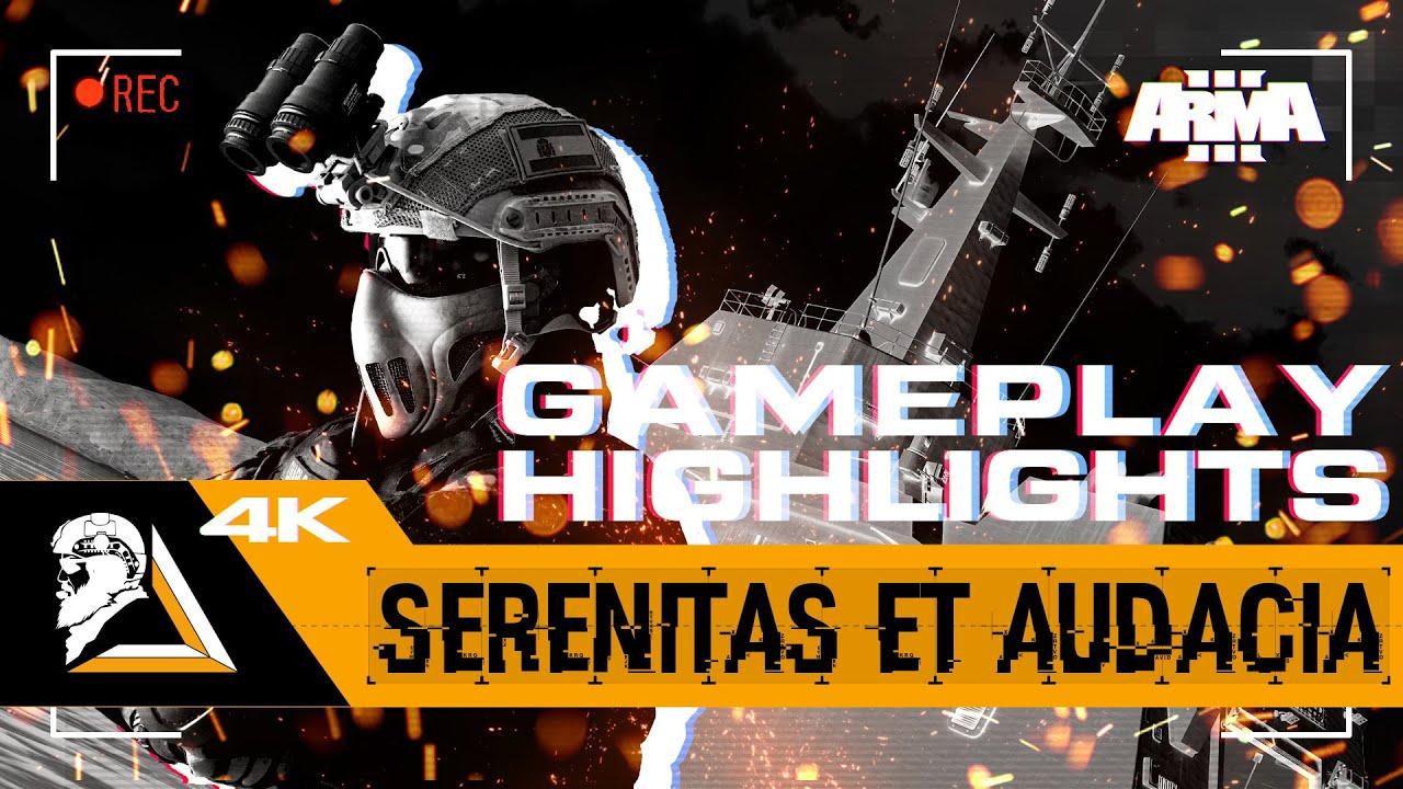 GAMEPLAY HIGHLIGHTS ARMA3 - OPERACIÓN SERENITAS ET AUDACIA - FGNE - SQUAD ALPHA - DIABLO HELMETCAM
